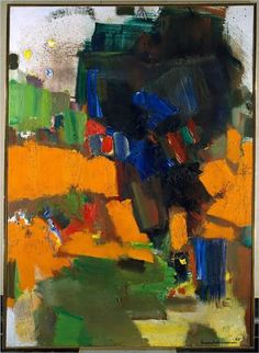 Deep Within the Ravine - Hans Hofmann
