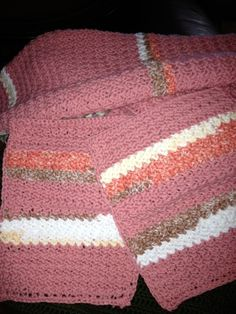 Dishcloth/Hand towel - free crochet pattern and for sale, $5 a set