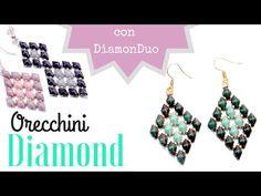 Tutorial Orecchini Diamond con DiamonDuo - YouTube