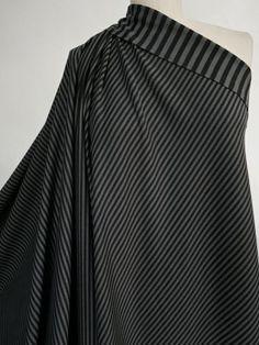 Marcy Tilton - Knit Fabrics - John Deed Double Sided Stripe Ponte