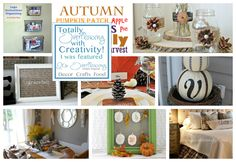Fall Home Decor & DIY Projects