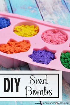 Pineapple Ninja Warm weather and springtime are here! Enjoy the sunshine and make planting fun with these DIY seed bombs! They're so much fun to make! Seed Bombs, Earth Day Crafts, Earth Craft, Plant Crafts, Seed Paper, Diy Garden Projects, Garden Ideas, Kids Garden Crafts, Easter Crafts