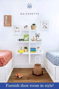 Meet Maisonette: your favorite new online destination for kid's furnishings and home decor.