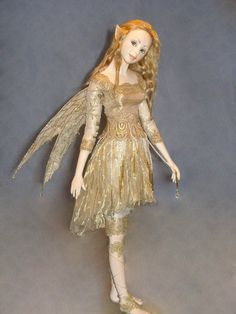 Hannie Sarris Fairy Fantasy Paper Clay Sculptures -- The detail is astounding. Check out the close ups and all of her other work.