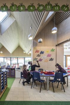 Pegasus Academy - Phase 1 - Hayhurst and Co. Pegasus, Conference Room, Nursery, Interior, Outdoor Decor, Home Decor, Indoor, Baby Room, Meeting Rooms