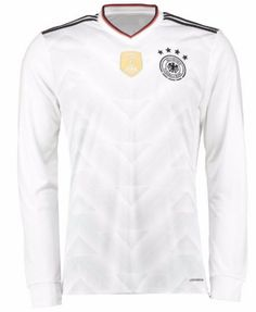 e97c8f183e08 2017 Germany Soccer Team Home LS Replica Football Shirt