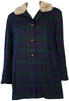 Women's Vintage Plaid Jacket at ballyhoovintage.com