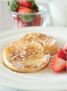 I've never been much of a morning sweets person, but these light lemon souffle pancakes might turn me into a convert.