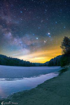 'Milky Way on Thin Ice'