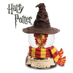 San Francisco Music Box Company Harry Potter Gryffindor Sorting Hat Waterglobe null