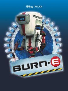 13개의 Burn E 아이디어 큰 사이즈 라인아트 흑백