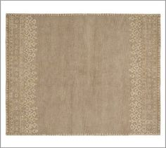 Desa Rug - Neutral #potterybarn - for the living room $699 for 8x10 or less for 5x8