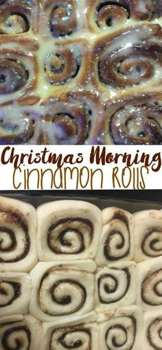 Overnight Cinnamon Rolls for Christmas morning. The perfect addition to any family Christmas traditions. [ad] #ScrubSeason @scotchbriteUS