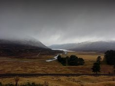 Winter is here, on the way to Inverness