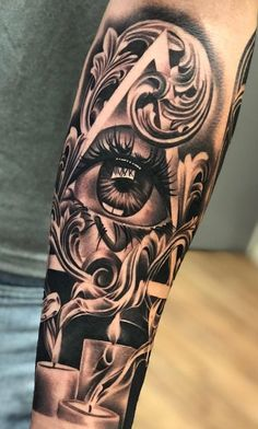 Best Tattoo For Men On Arm Ideas Inspiration Half Sleeves Ideas Tattoos 3d, Forarm Tattoos, Cool Forearm Tattoos, Cool Tattoos For Guys, Body Art Tattoos, Tattoos For Women, Tattoo For Guys Ideas, Best Tattoos For Men, Tattos