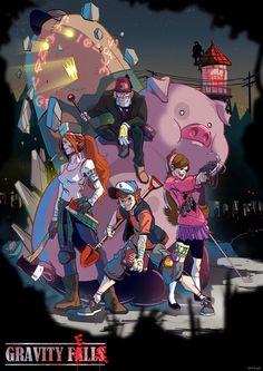 Gravity Falls,фэндомы,Mabel Pines,GF Персонажи,Dipper Pines,Wendy Corduroy,Stan Pines