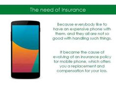 Having an insurance for your mobile phone is really necessary, True Insurance Australia provides you various benefits in its smart phone insurance plan. Details- http://www.trueinsurance.com.au/mobile-smart-phone-insurance/