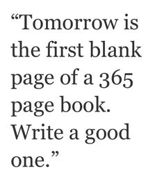 Quotes and sayings : new beginning  : fresh start : 2014