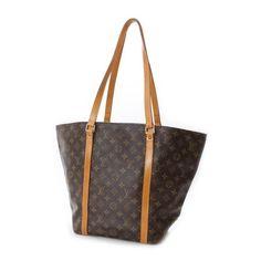 Louis Vuitton Sac Shopping Monogram Totes Brown Canvas M51108