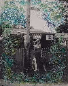 Embroidered Photos by Melissa Zexter