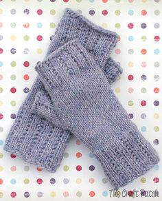Learn To Knit: Happy Hands Fingerless Mitts Free Pattern Fingerless Mitts Worsted Weight Yarn Project The post Learn To Knit: Happy Hands Fingerless Mitts Free Pattern appeared first on Knitting ideas. Fingerless Gloves Knitted, Crochet Gloves, Knit Mittens, Knit Crochet, Knitted Mittens Pattern, Crochet Granny, Free Crochet, Knitting Patterns Free, Free Pattern