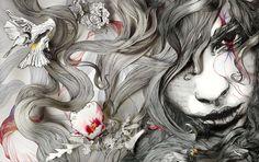 awesome #hair #flower