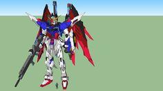 Large preview of 3D Model of Metal Build Destiny Gundam