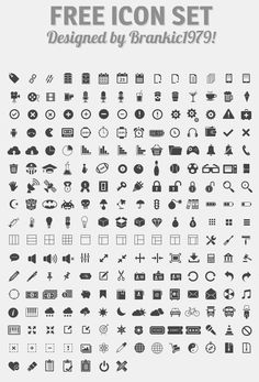 350 Vector Web Icons; always dig this style. It is the same I use for explaining difficult stuff in an abstract way.