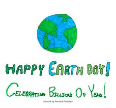 Happy Earth Day1 Celebrating billions of years and Just Act Natural's anniversary!
