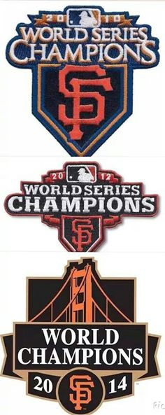 SF Giants, Champions 2010, 2012 & 2014