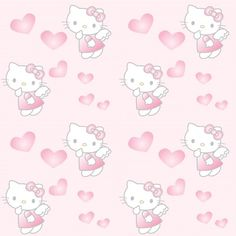 Hello Kitty Backgrounds, Hello Kitty Wallpaper, Glitter Wallpaper, Wallpaper Backgrounds, Hello Kitty Baby, Age Regression, Sanrio, Fun Facts, Angels