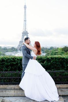 296972903dc A beautiful ball gown wedding dress by David s Bridal among a beautiful  Paris backdrop. Beautiful