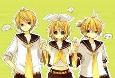 rin and len love - Google Search