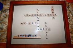 Scrabble Grandparent's Gift