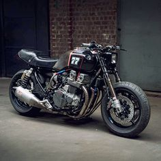 How about this rather brutal CB750 from Mcfly Custom?