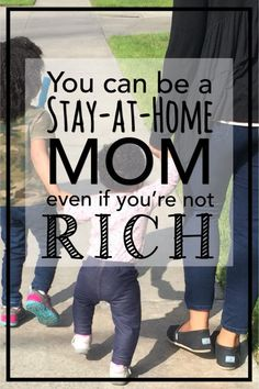 how to be a stay-at-home mom, family budget, save money