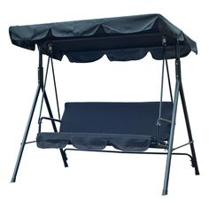 Shop a great selection of Outsunny 3 Person Canopy Porch Swing - Black. Find new offer and Similar products for Outsunny 3 Person Canopy Porch Swing - Black. Canopy Swing, Hammock Swing Chair, Patio Swing, Canopy Outdoor, Swinging Chair, Swing Chairs, Porch Swings, Hanging Chairs, Hammock Stand