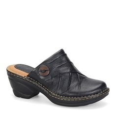 Take a look at this Black Laurel Clog by Softspots on #zulily today!