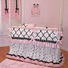 My ideal baby girl bedding...too bad its out of my price range..