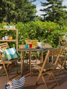 Verspielte #Outdoordeko bringt buntes Treiben auf die #Terrasse.