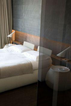 Wohnungseinrichtung - Schlafzimmer mit Led-Beleuchtung