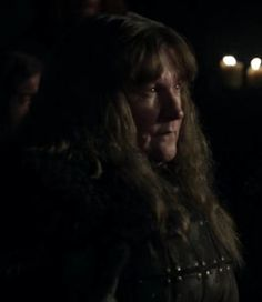 """Maege Mormont is a recurring background character in the first season. She was played by Elizabeth Barrett and debuts in """"The Pointy End"""". She fought for Robb Stark in the War of the Five Kings. Maege Mormont was the Lady of Bear Island and the head of House Mormont, a vassal to House Stark of Winterfell. She had one daughter, Lyanna, namesake of Lyanna Stark, Lord Eddard Stark's sister. Lord Commander Jeor Mormont of the Night's Watch is her older brother. The disgraced and exiled Ser…"""