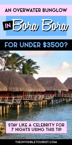 Honeymoon Alert: How I Stayed in Bora Bora like a Celebrity (Without the Price Tag). bora honeymoon Where to Stay in Bora Bora Like a Celebrity (With a Budget Price Tag) Vacation Places, Vacation Destinations, Dream Vacations, Vacation Spots, Places To Travel, Places To See, Romantic Vacations, Italy Vacation, Romantic Travel