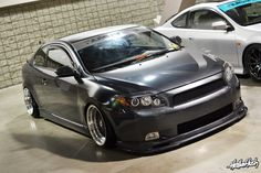 scion TC... i want. slammed with deep dish meshies.