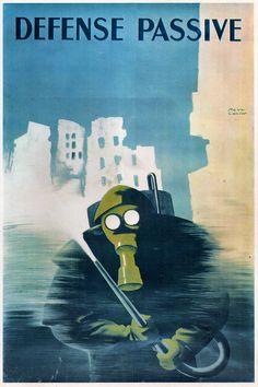 Cartel de propaganda Frances - French propaganda poster - Segunda guerra mundial - Second World War - WWII