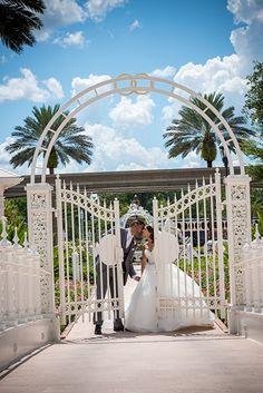 "Say ""I do"" at the picturesque ceremony venue Disney's Wedding Pavilion"