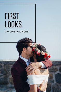 """One of the biggest questions we get asked as wedding photographers is: """"Should I do a first look?"""" We've broken down the reasons why you should or should not do a first look on your wedding day. Beet & Blossom Photo Co   Alex + Cassie Torres #firstlook #weddingplanning"""