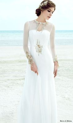 Rico-A-Mona 2015 Resort Collection Wedding Dresses | Wedding Inspirasi