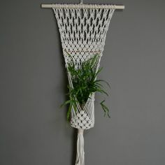 Is it wrong to want macrame plant hangers?