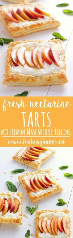 Fresh Nectarine Tart